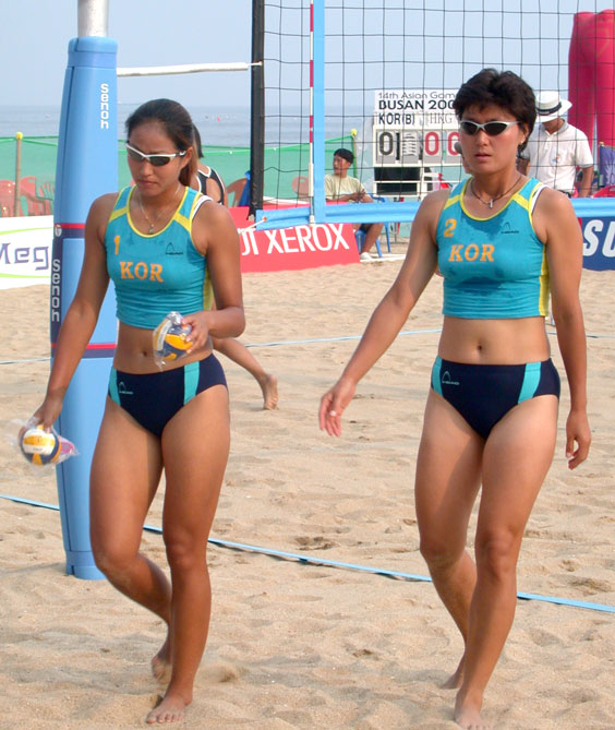 Pusanweb Asian Games Guide For Busan Korea Womens Beach Volleyball Oct
